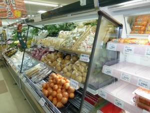 漬物・土物用セミ多段冷蔵ショーケース