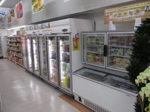 アイス・飲食用リーチイン型ショーケース